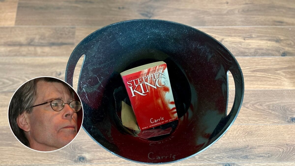 How Stephen King Almost Threw Away His Most Successful Book