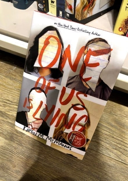 One of Us is Lying book cover-min