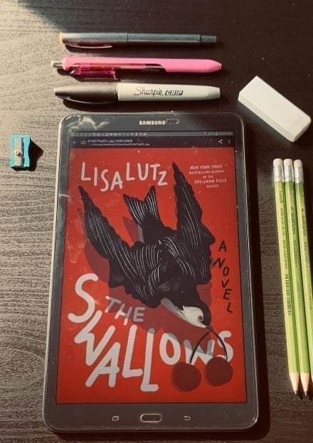 The Swallows but Lisa Lutz.