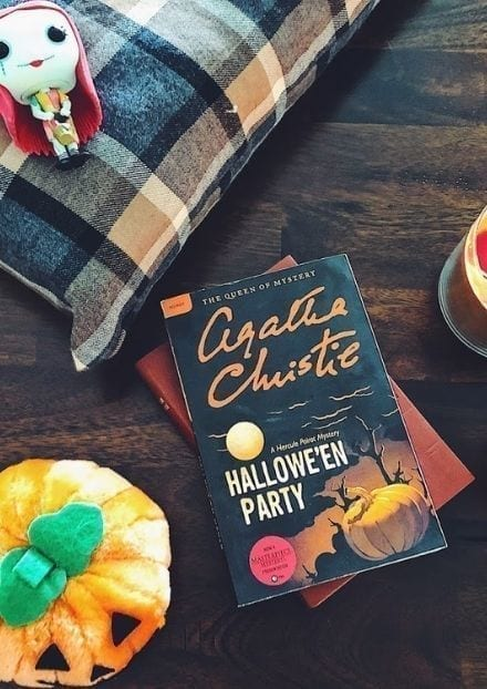 agatha christie halloween party cover