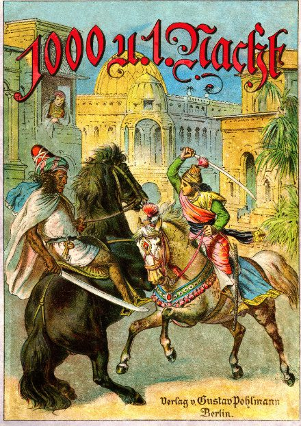 1001 nights book cover