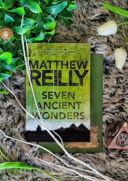 Book Cover Seven Ancient Wonders A Jack West Novel by Matthew Reilly
