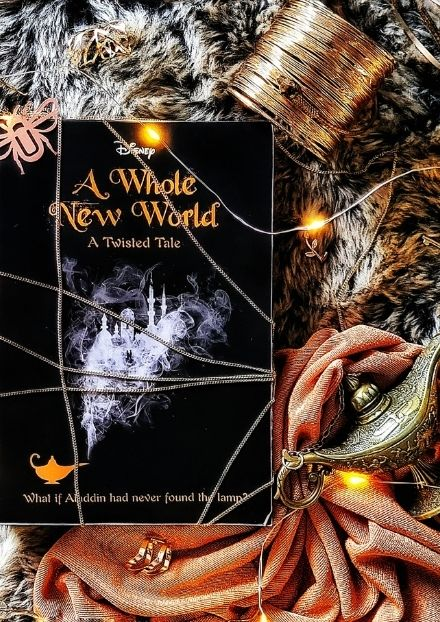 Book Cover Disney - A Whole New World - A Twisted Tale By Liz Braswell