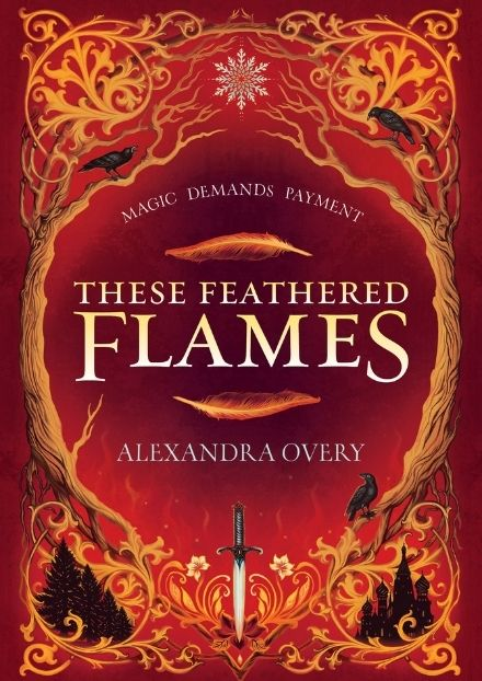 These feathered flames